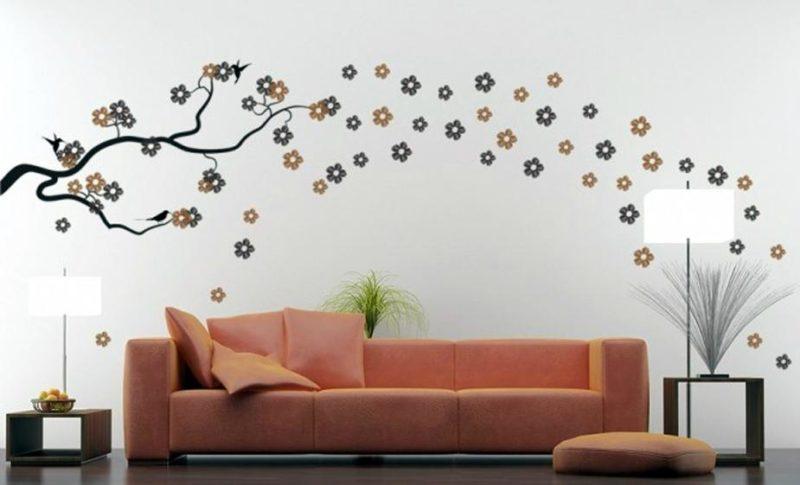 Декор интерьера: роспись стен своими руками