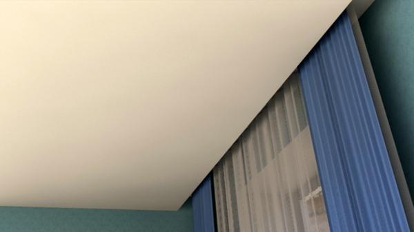 Потолочные карнизы для штор: фото новинок дизайна