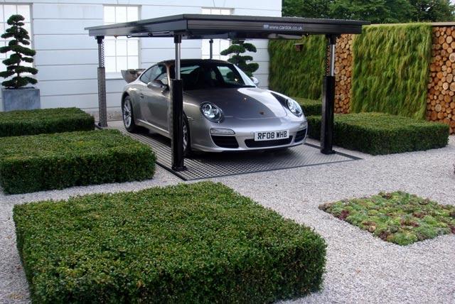 экстерьер парковки