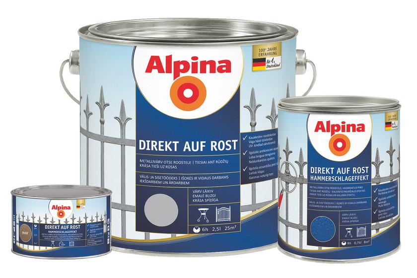 Alpina Direkt Auf Rost