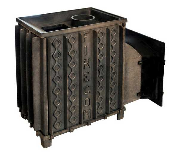 Чугунная печь для бани на даче