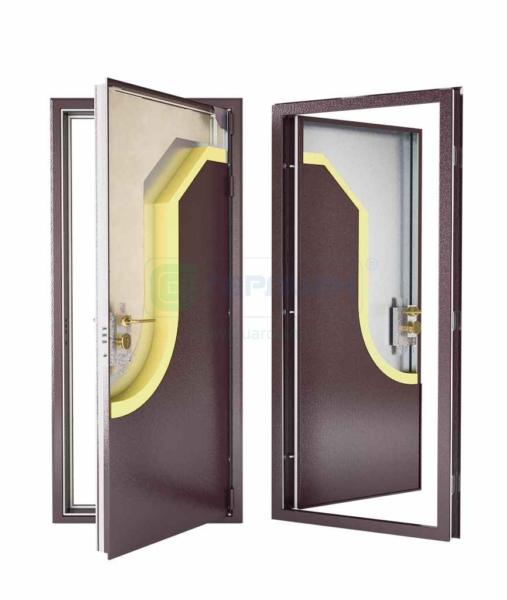 ДС-7 – лучшие металлические двери с внутренним открыванием