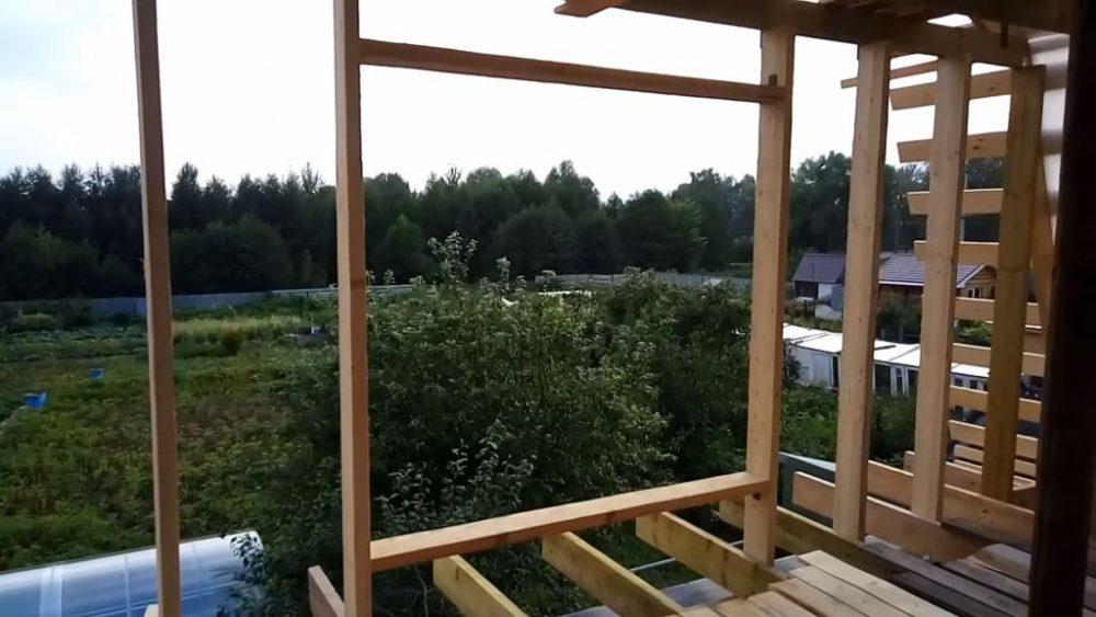 Формирование мансардного окна