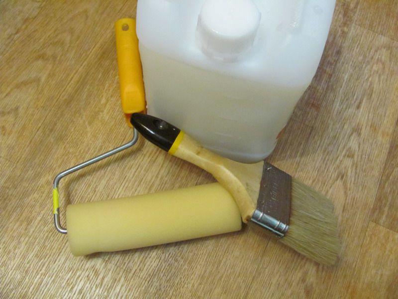 Инструменты для нанесения грунтовки
