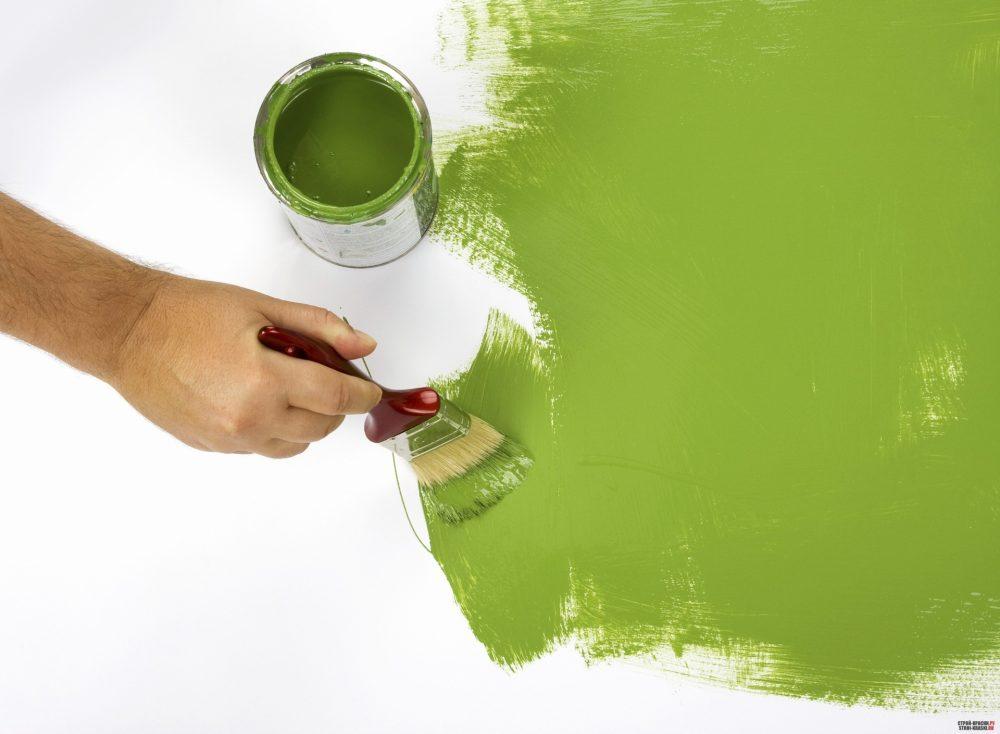 краска для стен для ванной