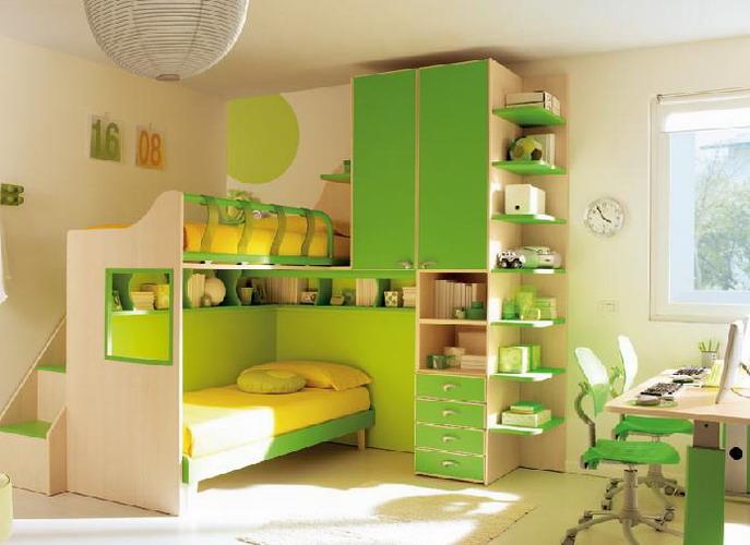 Комната для девочек с большой разницей в возрасте