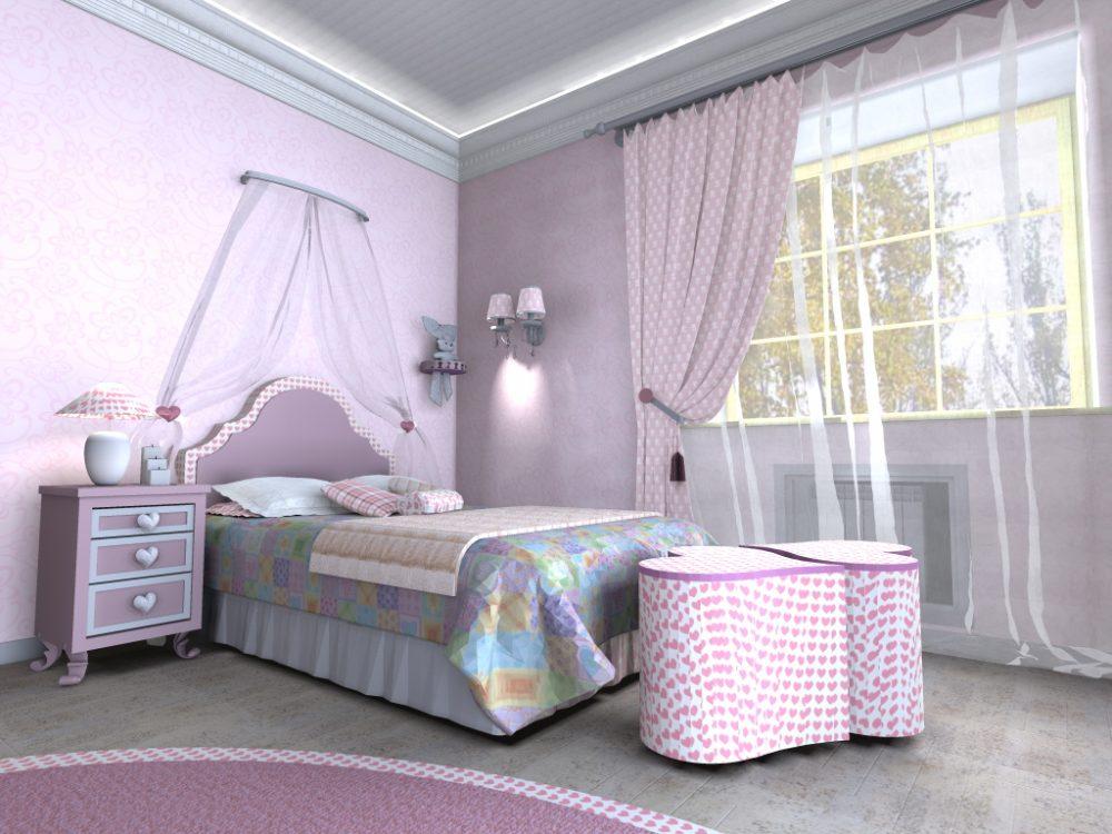 Комната для девочки подростка 12 лет 3