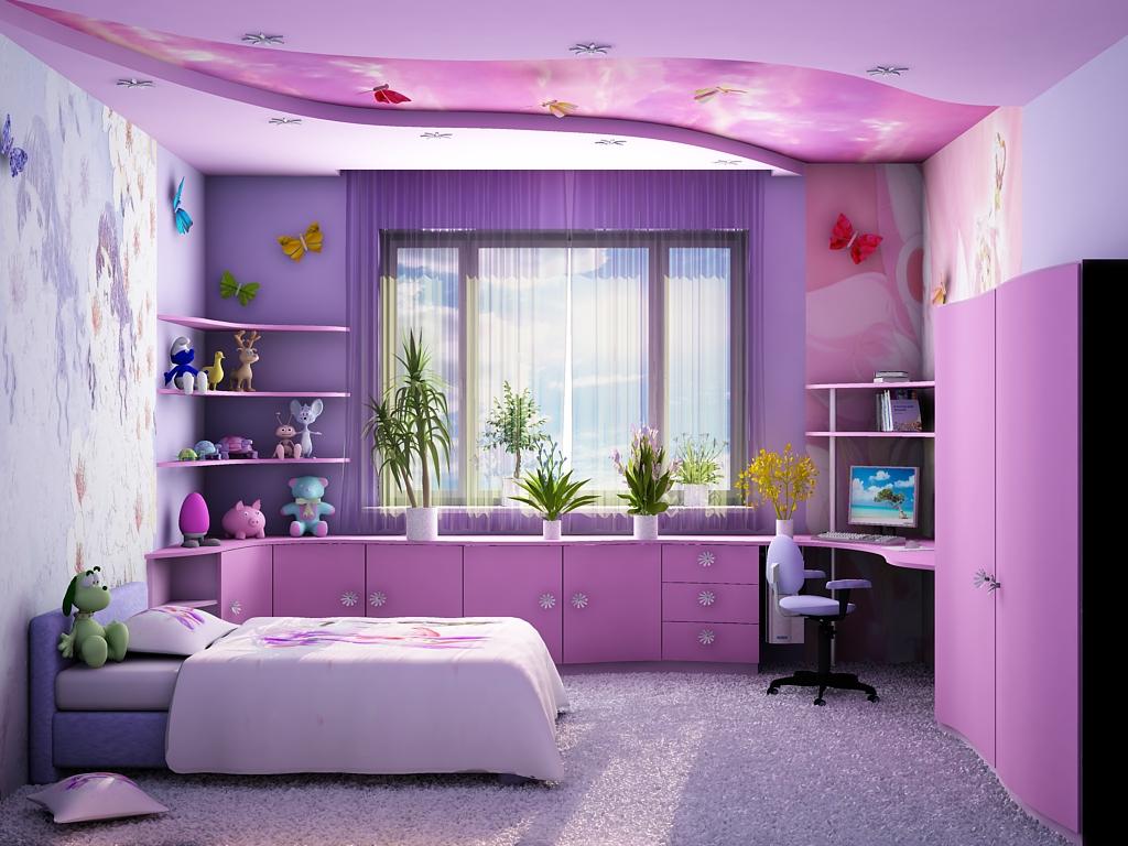 Комната для девочки подростка 12 лет