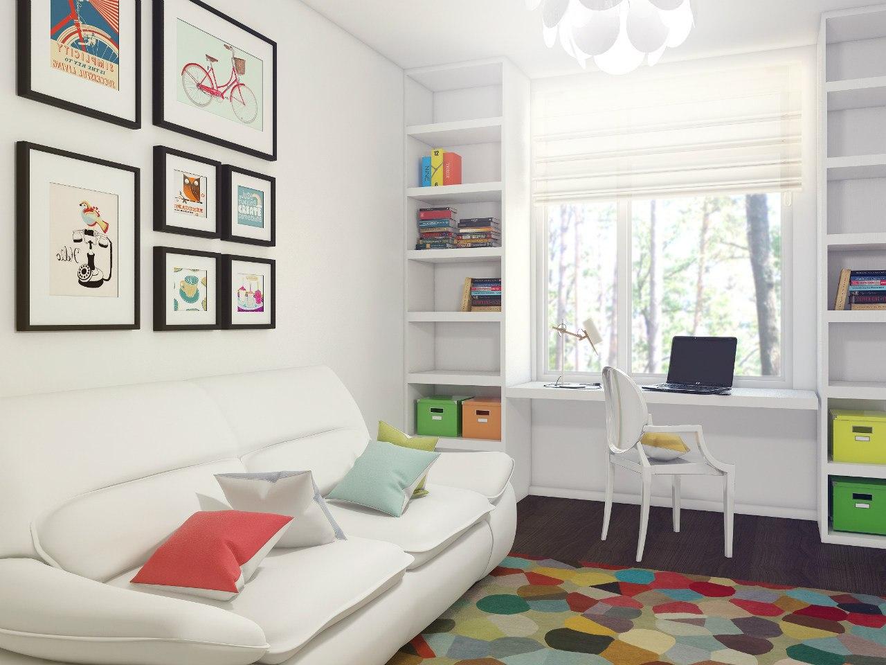 Комната для подростка площадью 10 кв. м