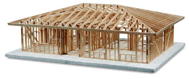 Конструкция стропильной системы шатровой крыши