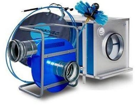 оборудование для механической очистки вентиляционных шахт