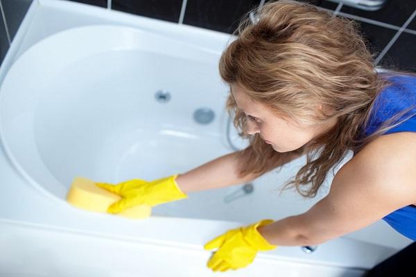 как очистить ванну от плесени