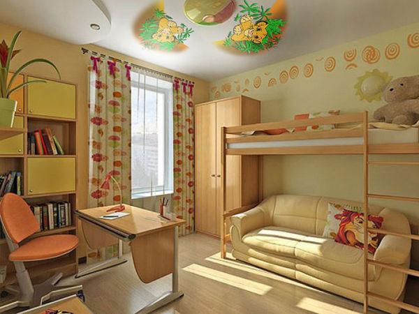 Оформление комнаты для двух девочек