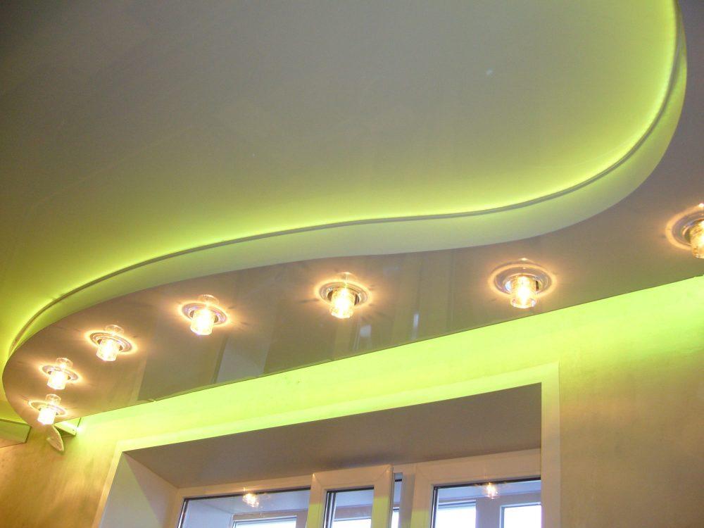 Правильный монтаж натяжных многоуровневых потолков