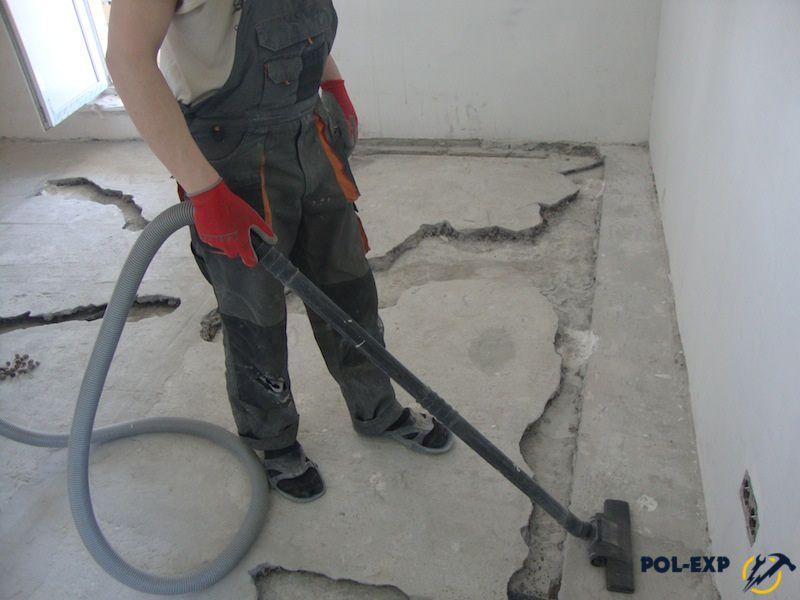 Ремонт и подготовка бетонного основания