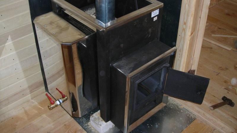 Стальная печь для бани своими руками