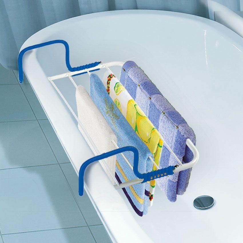 Сушилка на бортик ванны