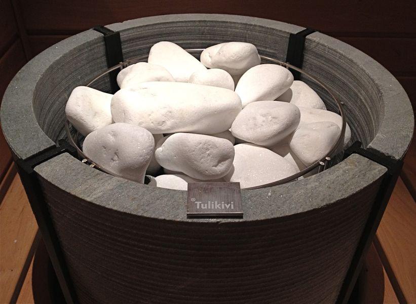 Камни следует осмотреть перед использованием
