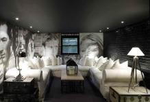 Unique-Cool-Basement-Media-Room