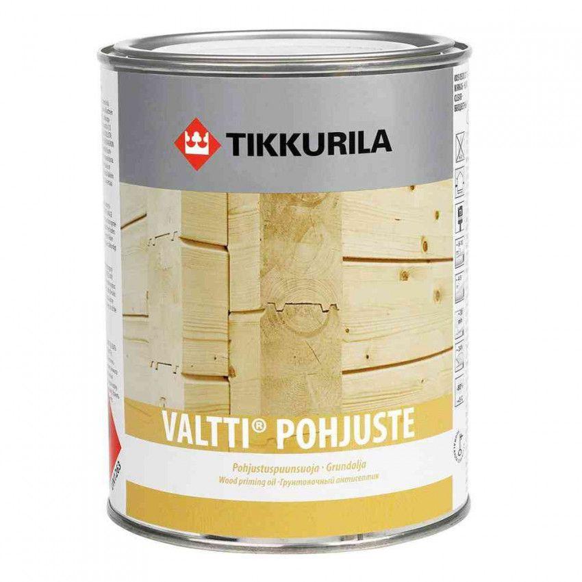 Валтти-Похъюсте грунтовочный антисептик для дерева Тиккурила
