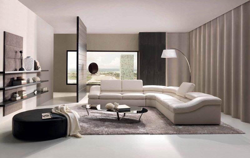 потолок гостиной в стиле модерн
