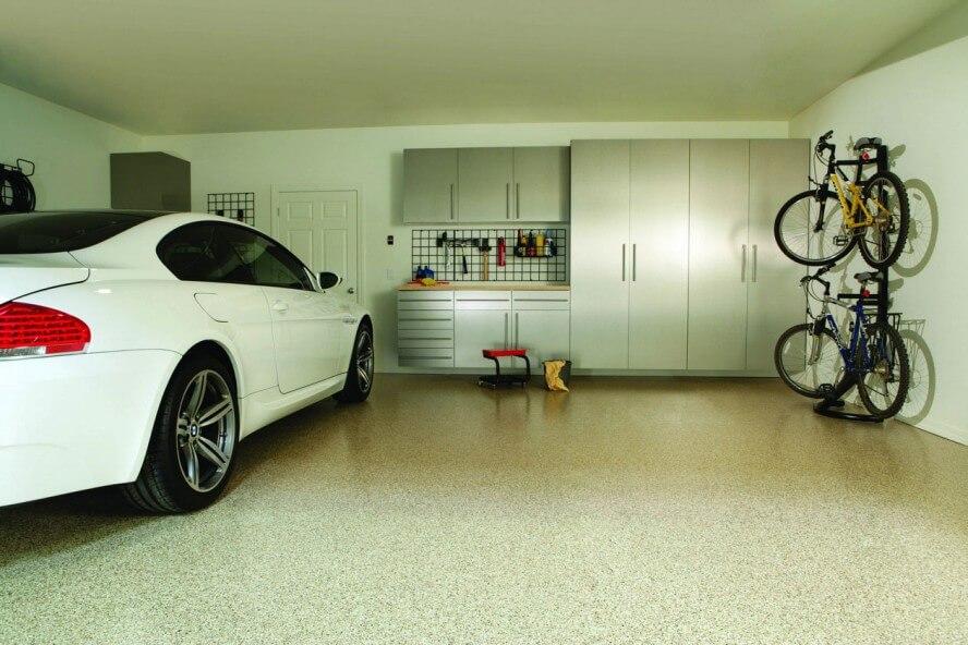 Внутреннее оформление гаража