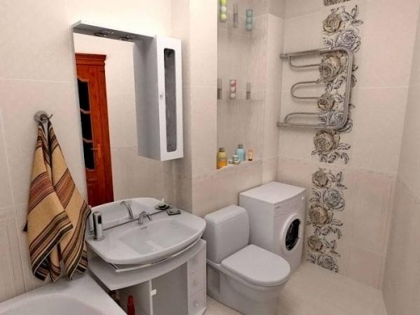 Отделка ванной в панельном доме