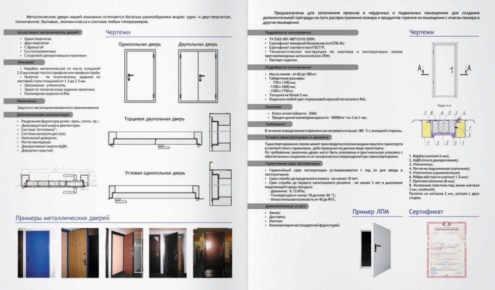 Разновидности противопожарных дверей из металла, их функции, как подобрать и установить самостоятельно