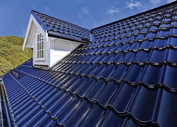 крыша под металлочнрепицей