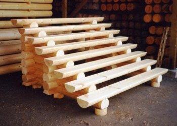 Лестница на крыльцо из дерева своими руками: обустройство входа в частном доме