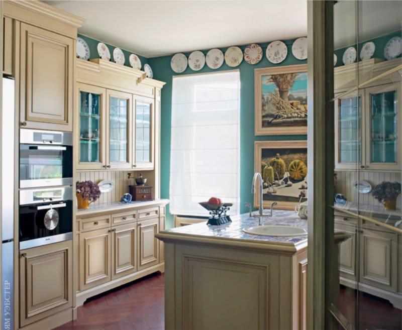 Декор кухни в английском стиле