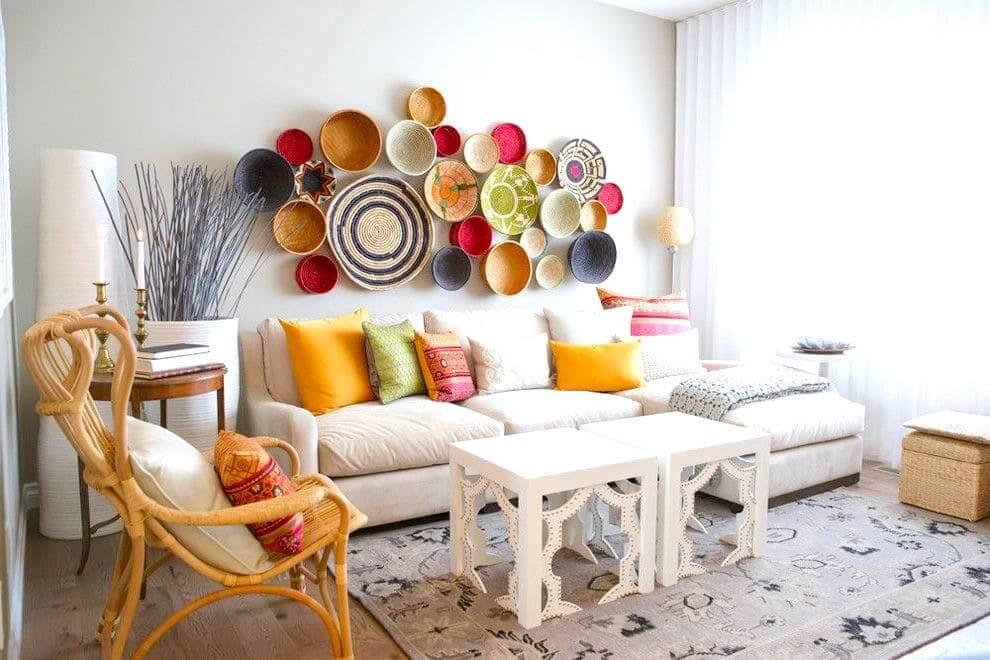 Уютный интерьер квартиры в светлых тонах