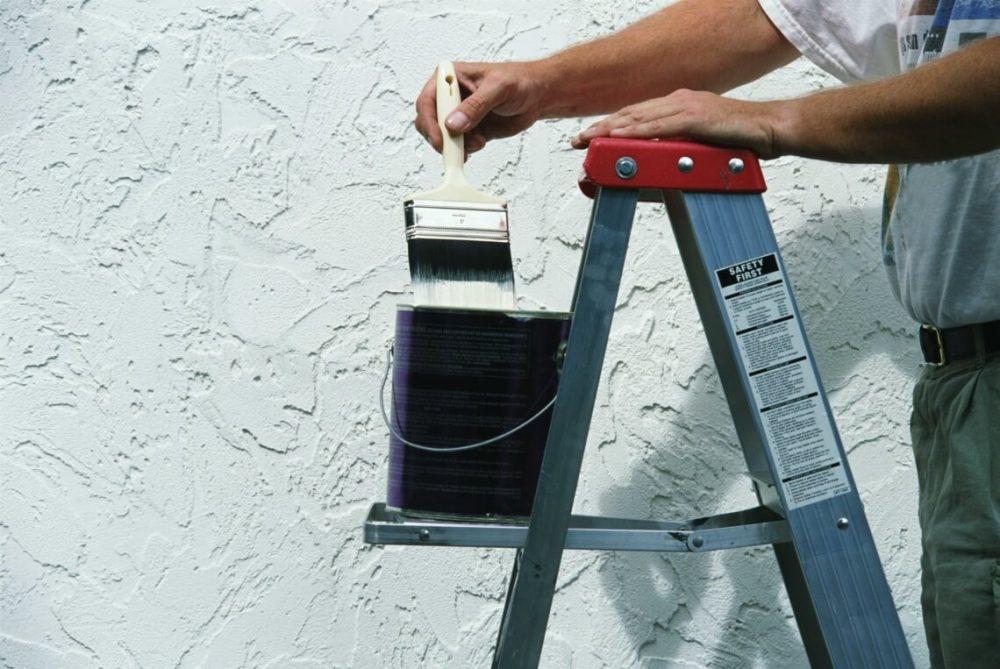 декоративная шпаклевка и покраска стен
