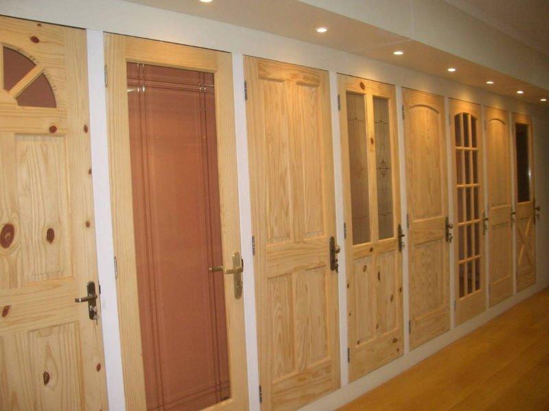 Межкомнатные двери массив сосны