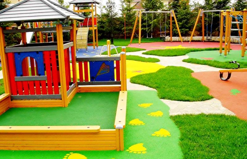 ? Детская площадка для дачи своими руками: 50 креативных фотоидей