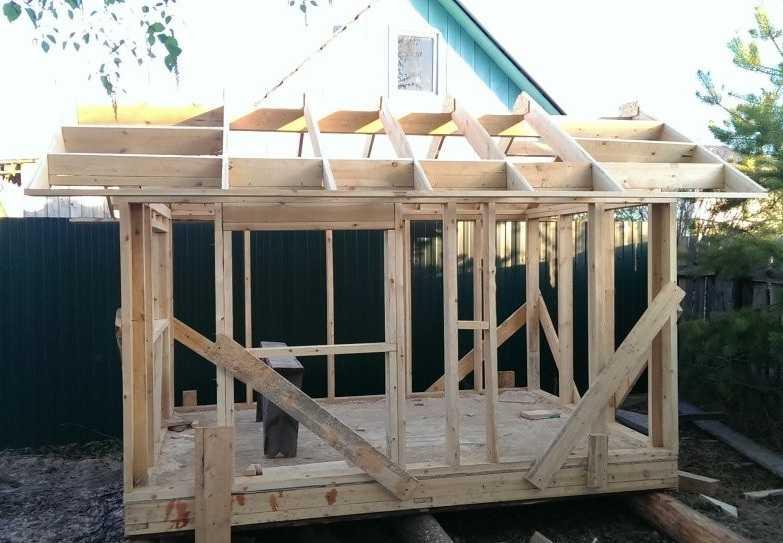 Строительство детского домика на даче близится к завершению