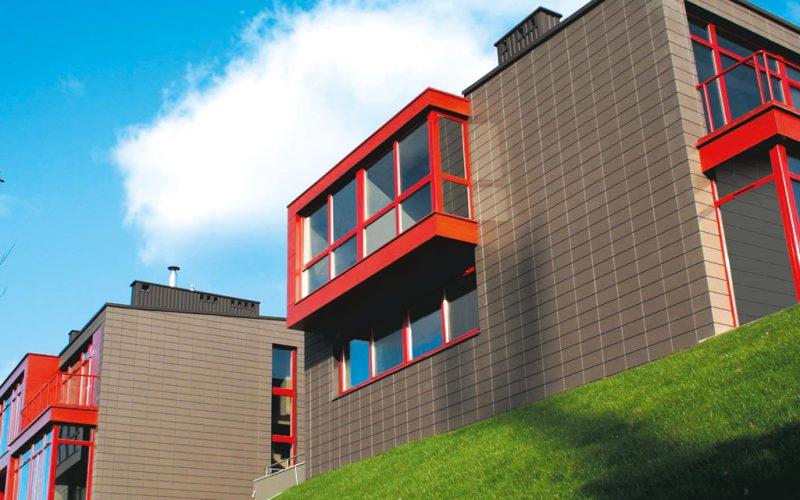 керамические фасадные панели