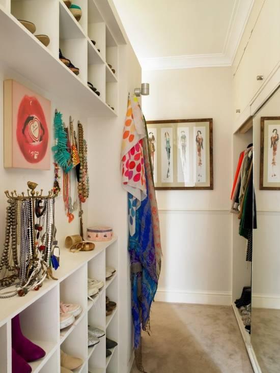 дизайн гардеробной в квартире
