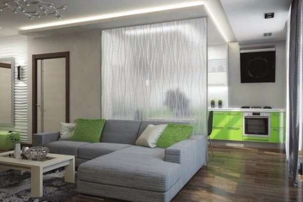 Маленькие квартиры студии - дизайн фото в современном стиле