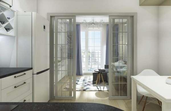 Маленькие квартиры студии - дизайн фото и зонирование пространства