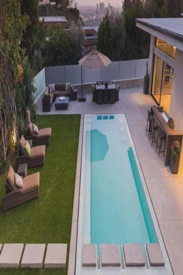 Красивый дизайн двора, фото 10