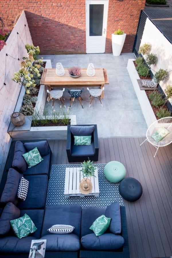 Красивый дизайн двора, фото 11