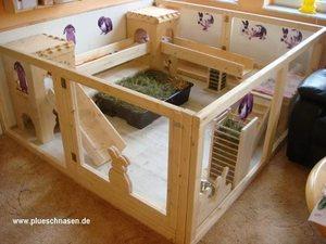 Дом для кролика в квартире