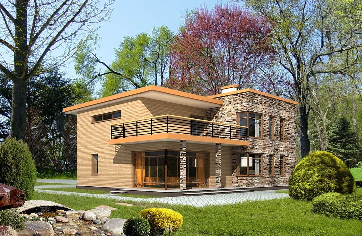 Загородные постройки в ультрасовременных стилях