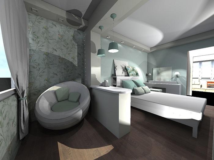 Дизайн спальни с лоджией_фото6