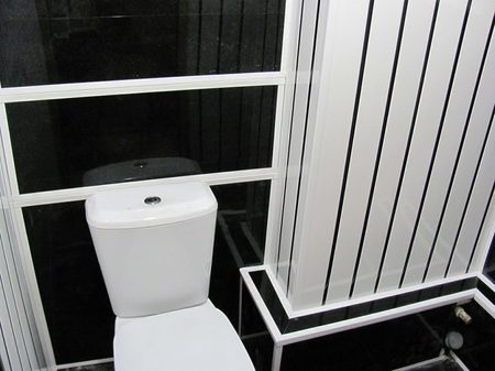 Финишное оформление туалета