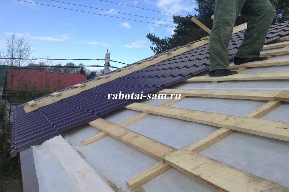 Гидроизоляция металлической крыши