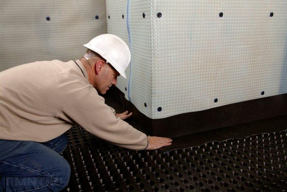 гидроизоляция цокольного этажа снаружи