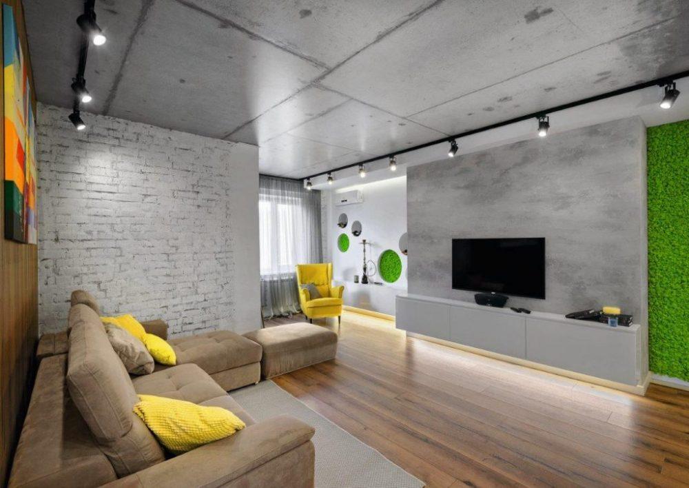 Удачный вариант окрашивания или побелки потолка - выбирать Вам