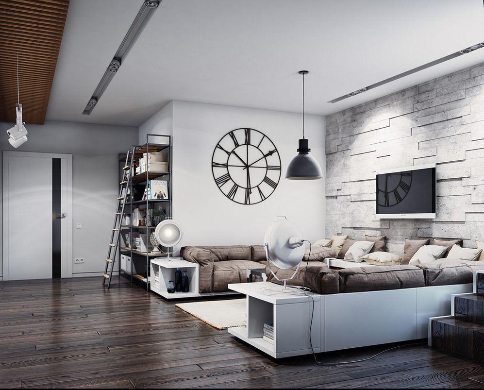 В центре всегда устанавливают большой диван